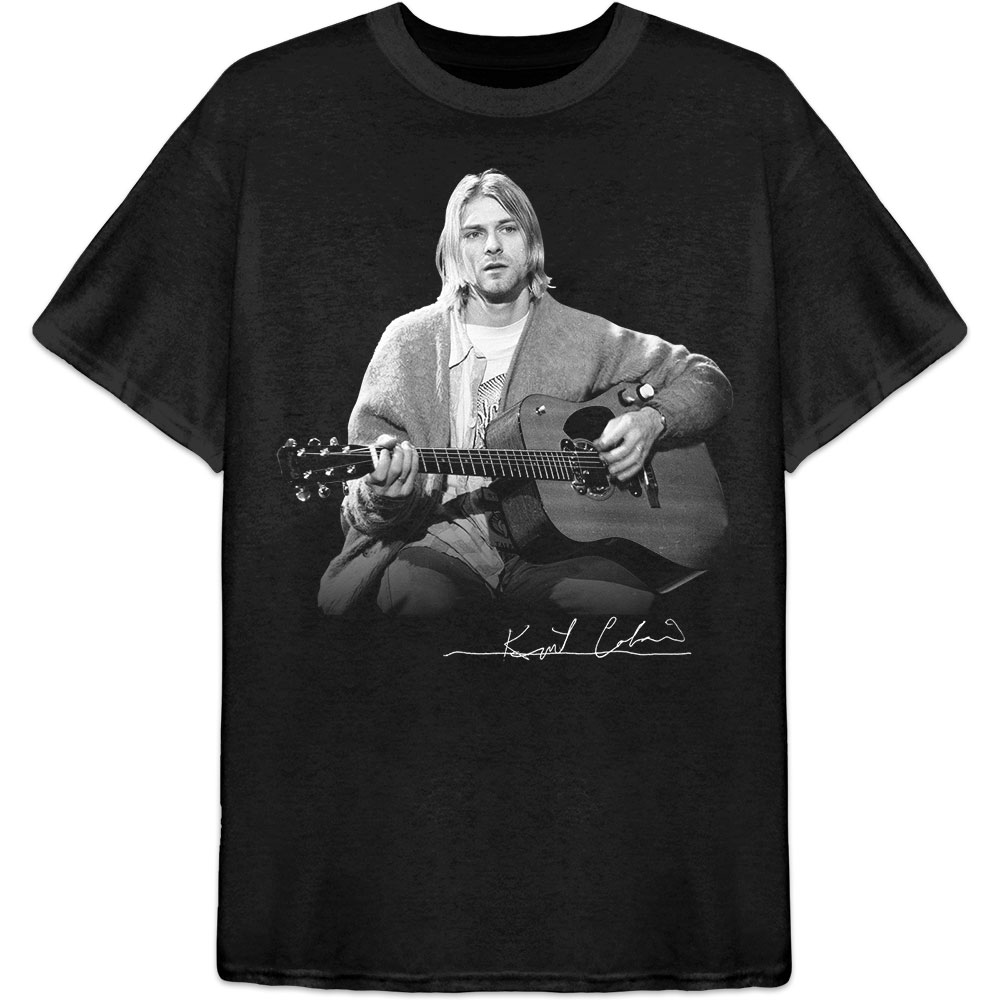 KURT COBAIN Guitar Live Photo