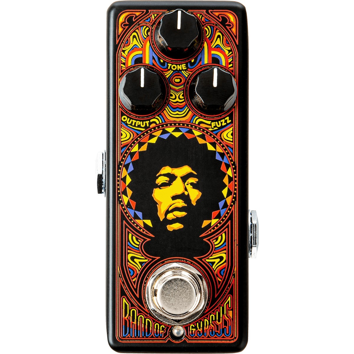 DUNLOP Authentic Hendrix '69 Psych Series Band Of Gypsys Fuzz