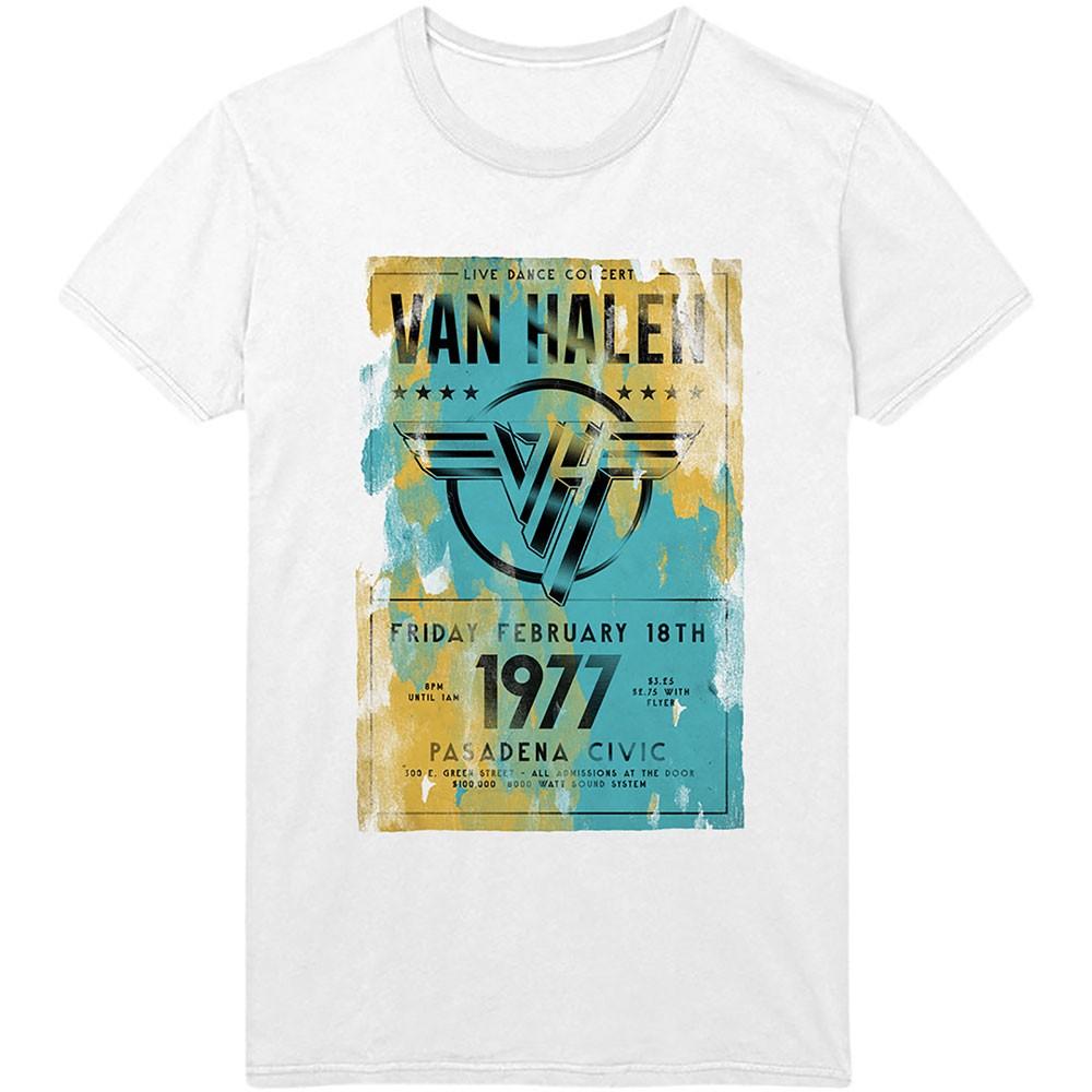 VAN HALEN Pasadena 77