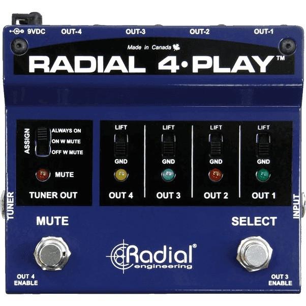 RADIAL ENGINEERING Tonebone 4 Play