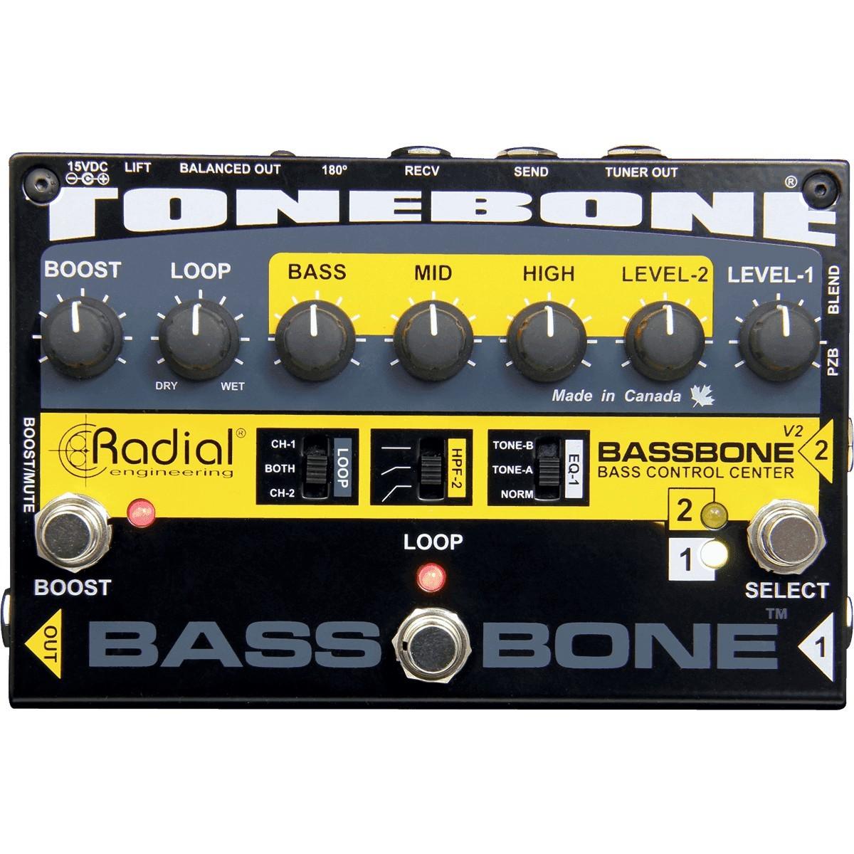 RADIAL ENGINEERING Tonebone Bassbone V2