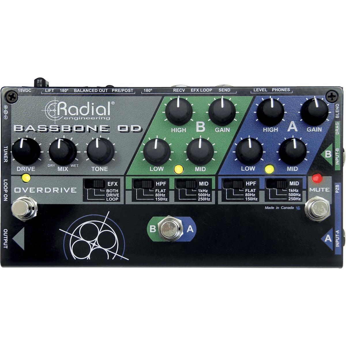 RADIAL ENGINEERING Tonebone Bassbone OD