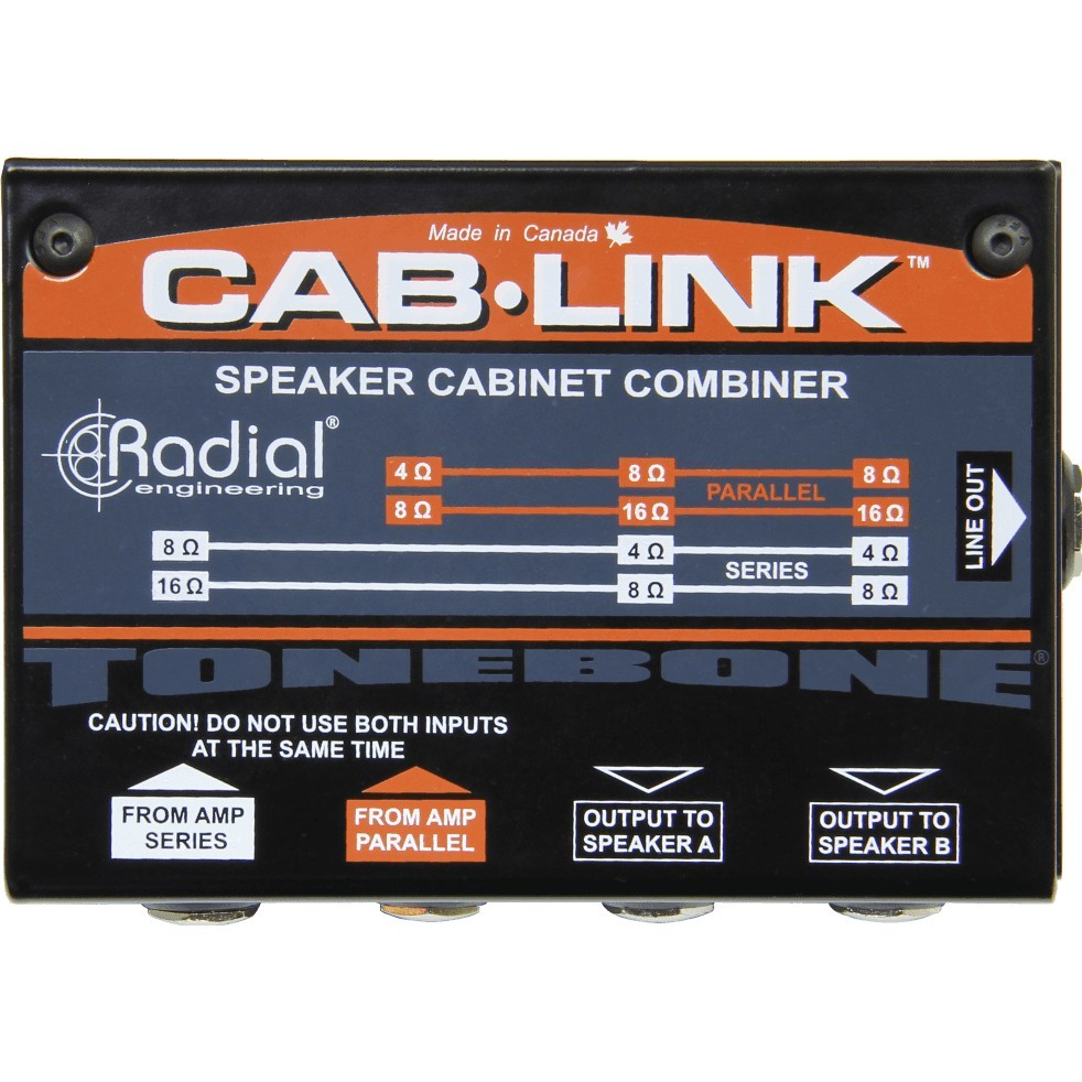 RADIAL ENGINEERING Tonebone Cab Link