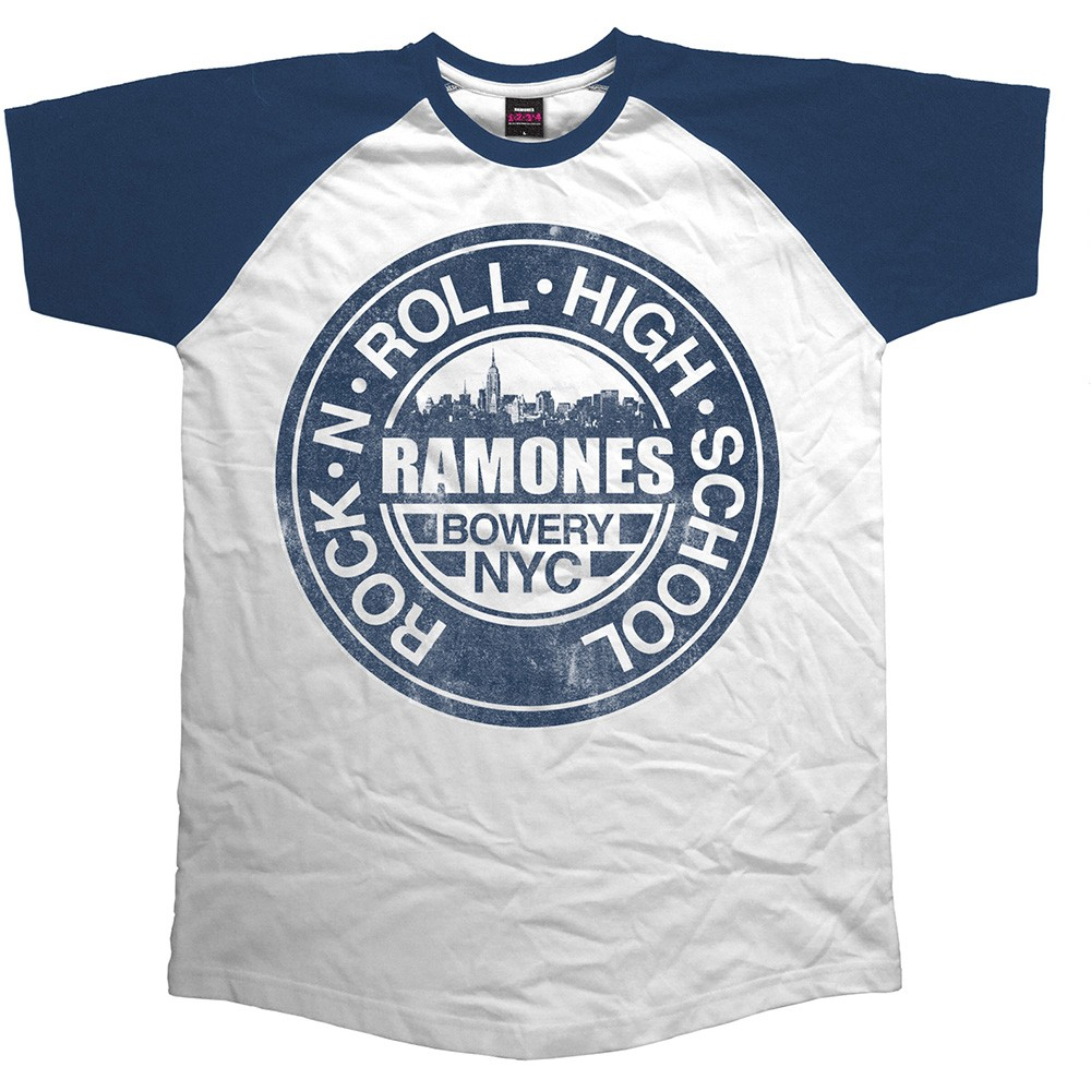 RAMONES Bowery Nyc