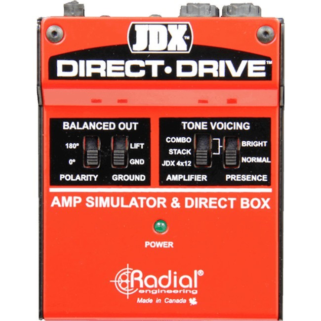 RADIAL ENGINEERING Tonebone JDX Direct Drive