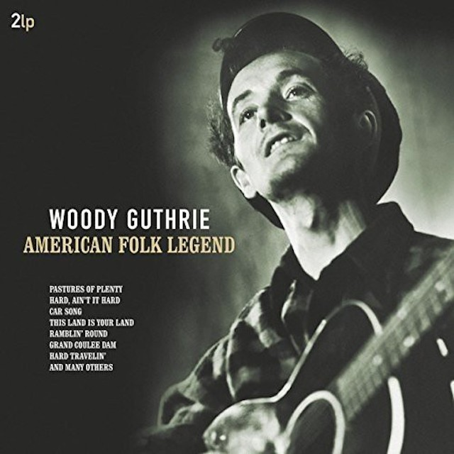 WOODY GUTHRIE American Folk Legend