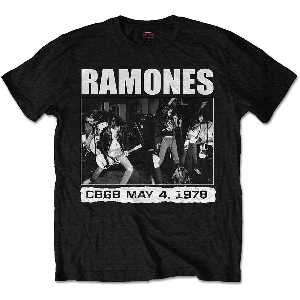 RAMONES CBGB 1978