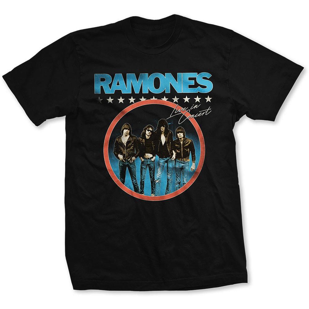 RAMONES Circle Logo