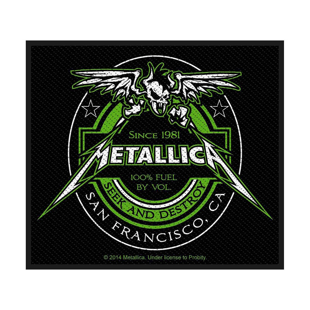 METALLICA Beer Label