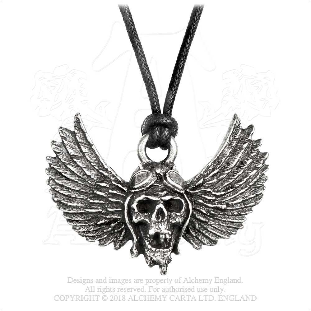 AIRBOURNE Winged Skull