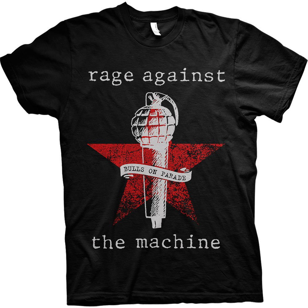 RAGE AGAINST THE MACHINE Bulls On Parade Mic