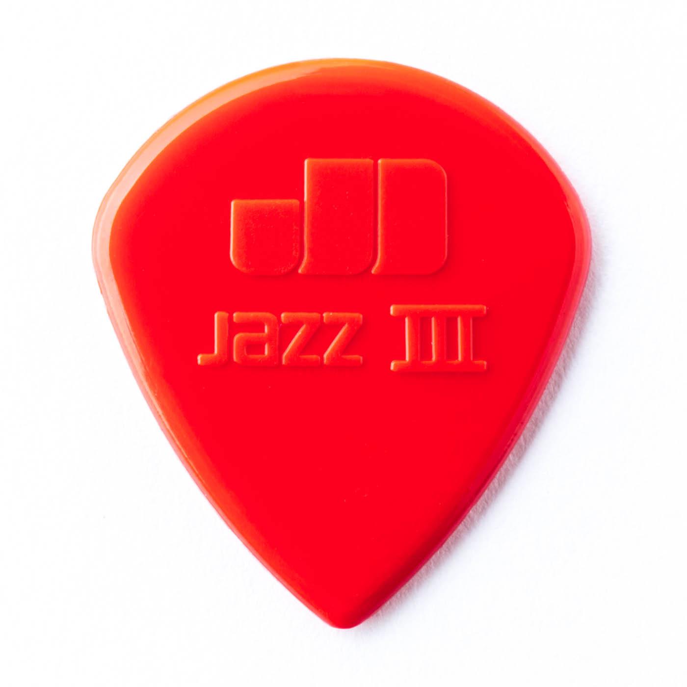 DUNLOP Médiators Nylon Jazz III x 6