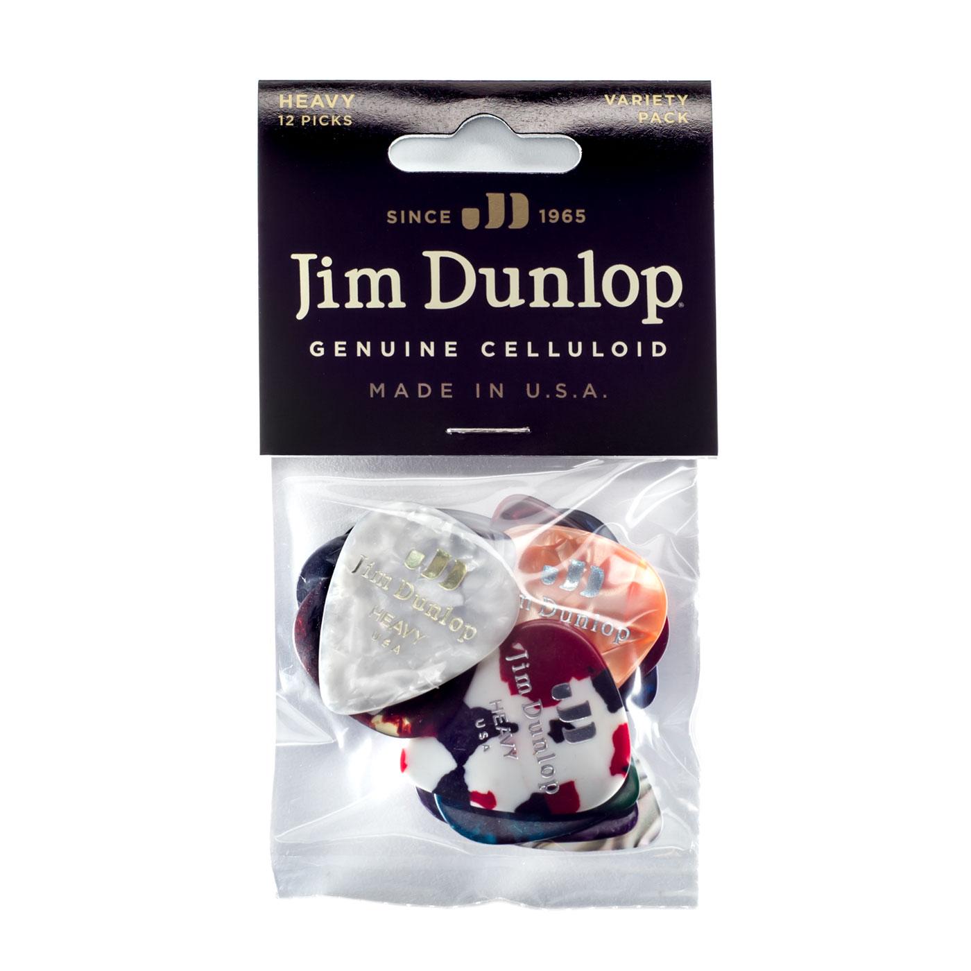 DUNLOP Médiators Celluloid Variety Pack