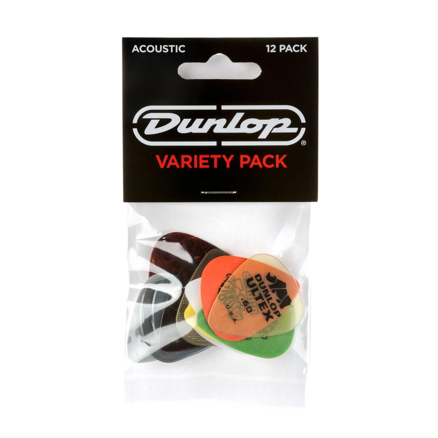 DUNLOP Médiators Acoustic Variety Pack