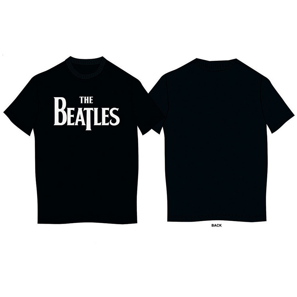 THE BEATLES Drop T Logo