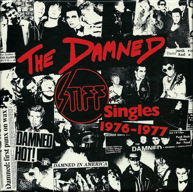 THE DAMNED Stiff Singles 1976 1977