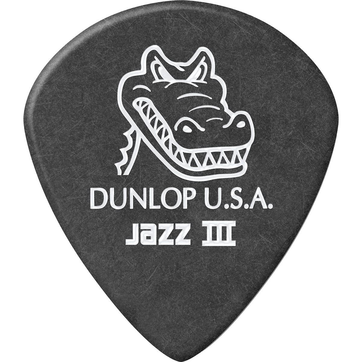 DUNLOP Médiators Gator Grip Jazz III x 6