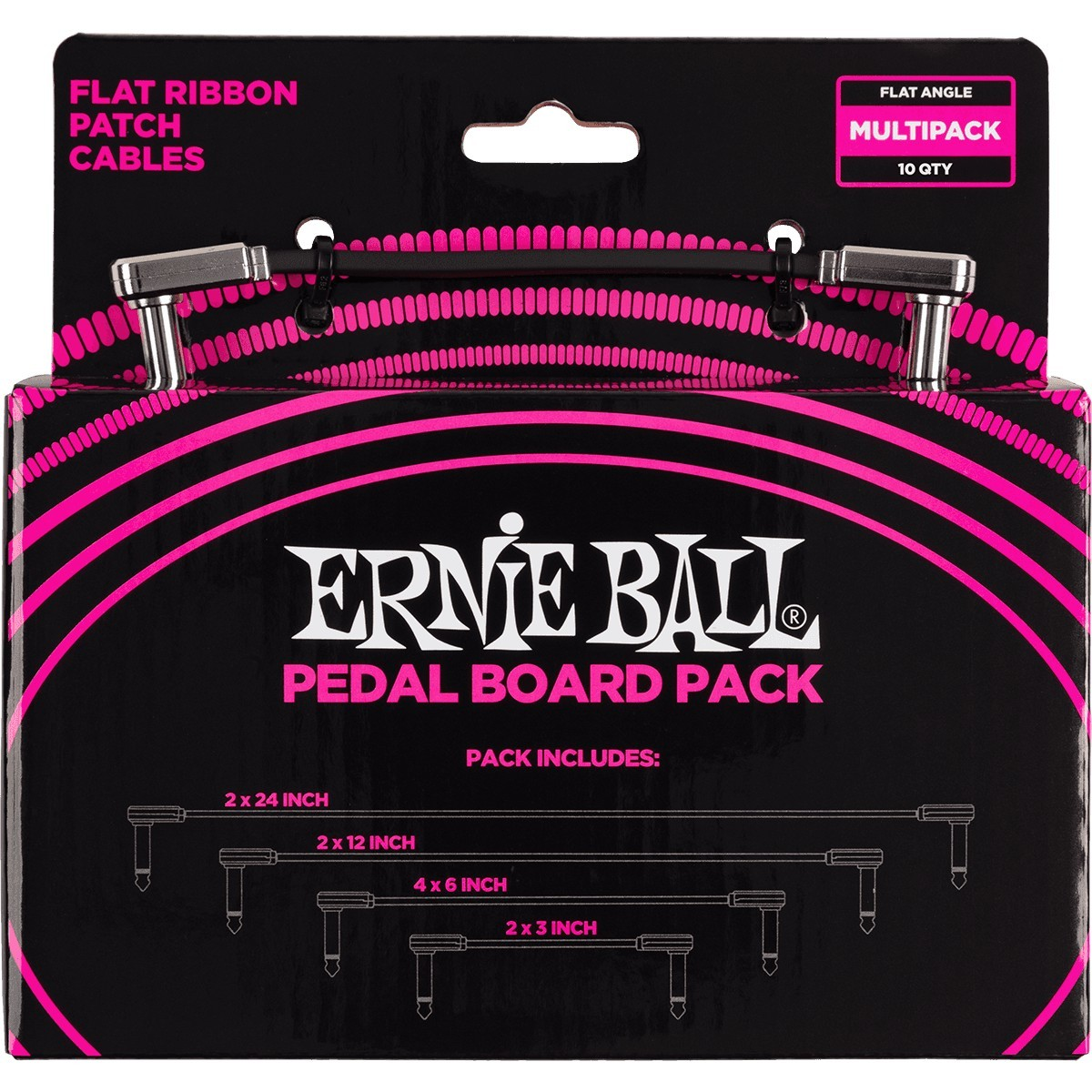 ERNIE BALL Cable Instrument Patch Flat Ribbon