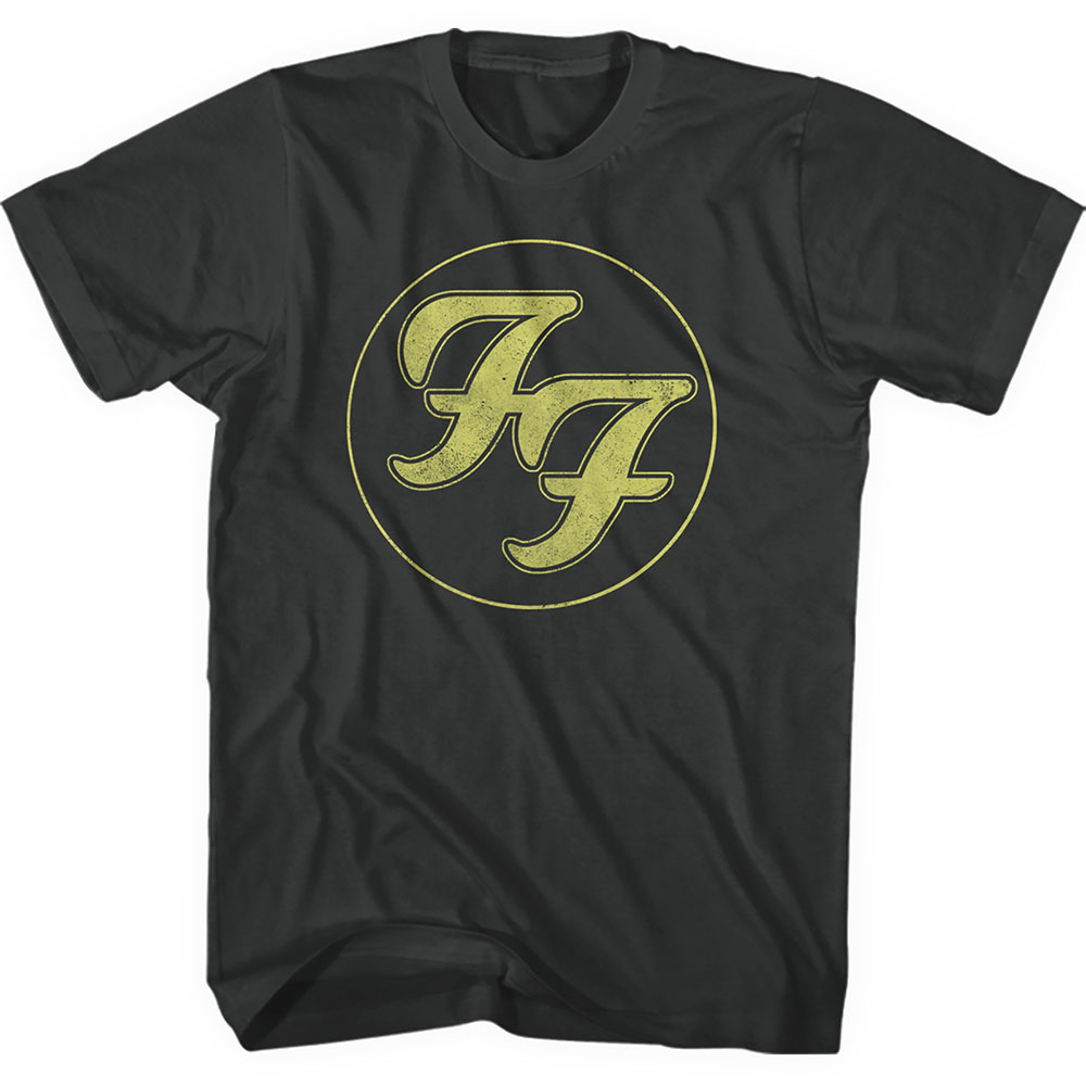 FOO FIGHTERS Gold FF Logo