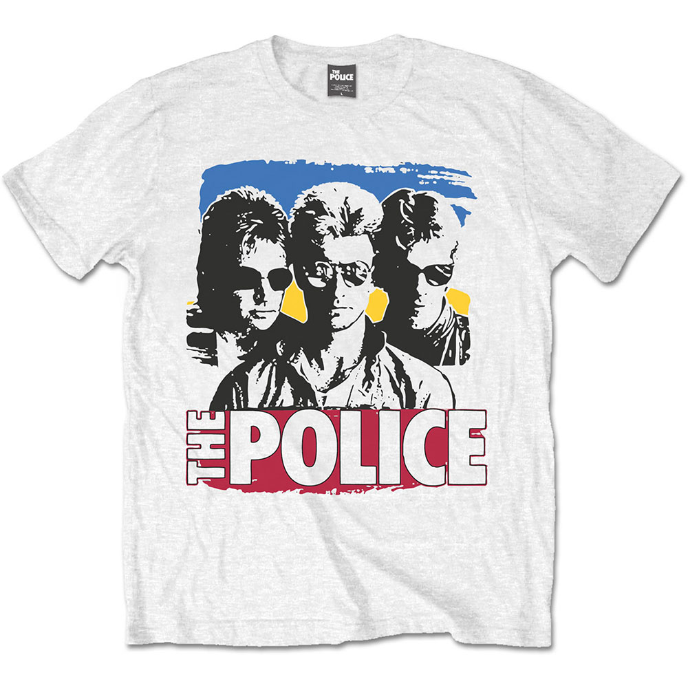 THE POLICE Band Photo Sunglasses