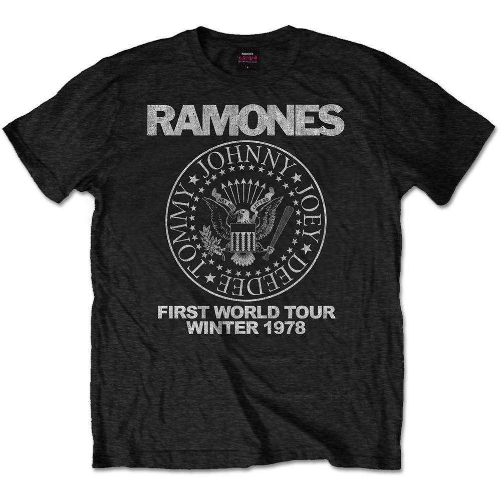 RAMONES First Wolrd Tour 1978