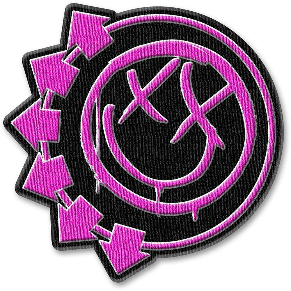 BLINK 182 Pink Neon Six Arrows