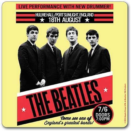THE BEATLES 1962 Port Sunlight