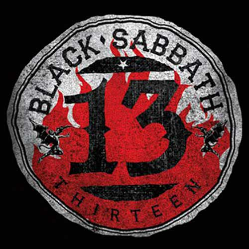BLACK SABBATH 13 Flame Circle