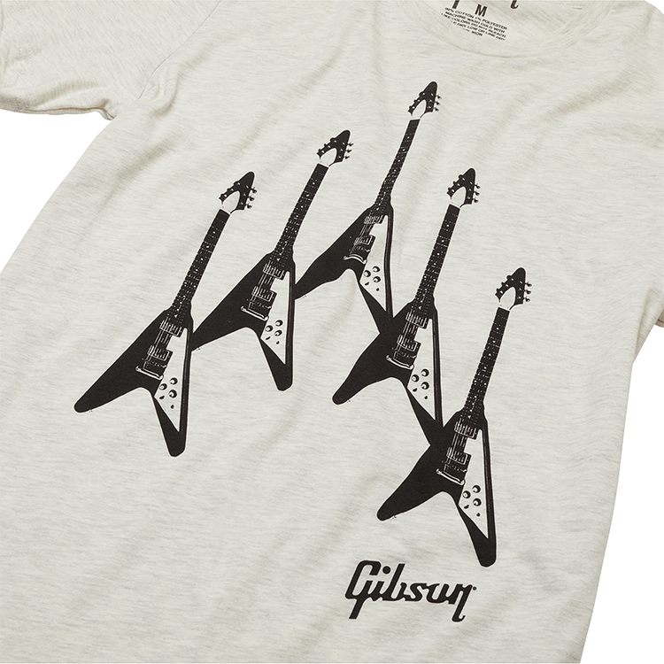 GIBSON Flying V Formation Tee