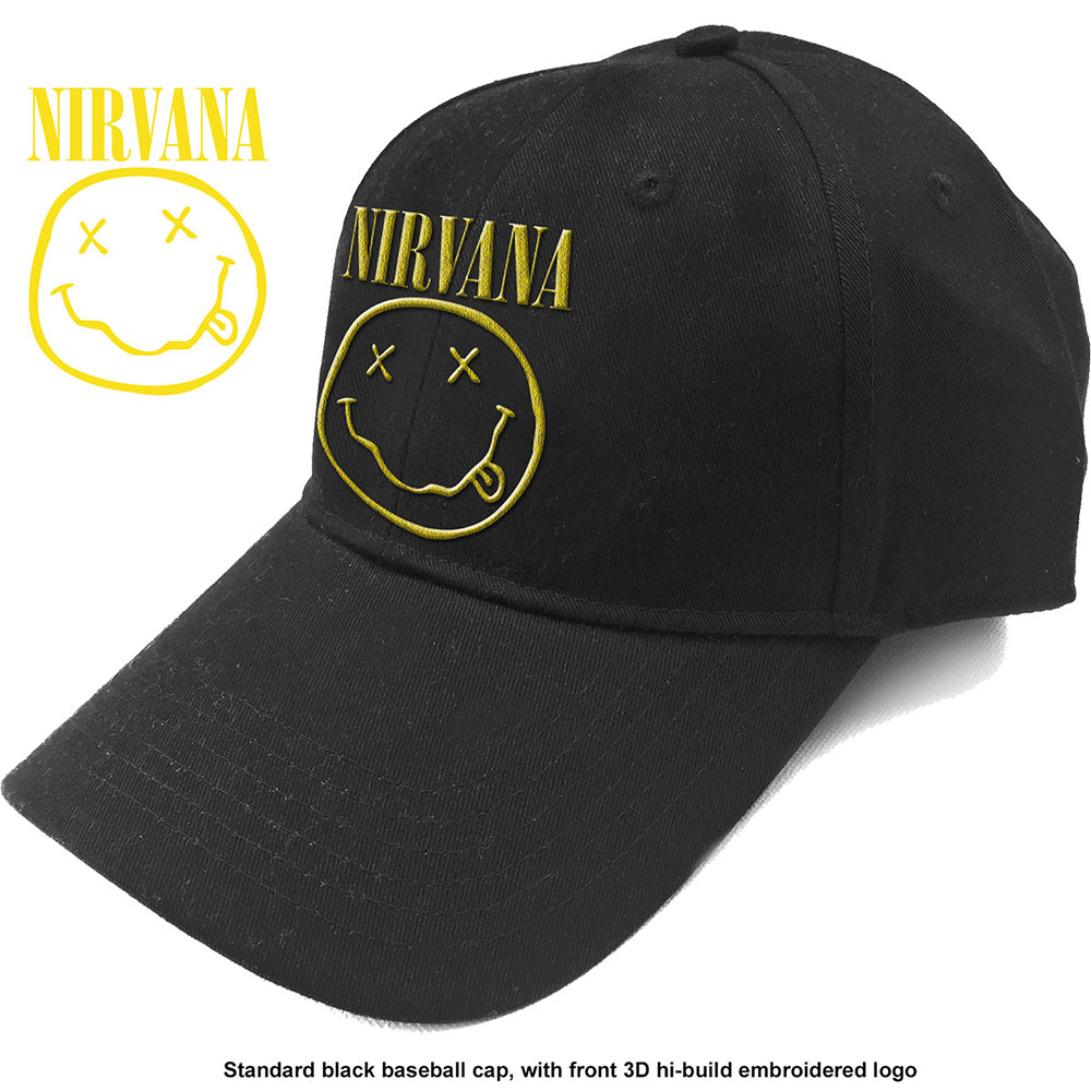 NIRVANA Logo & Smiley