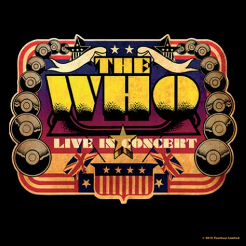 THE WHO Live In Concert