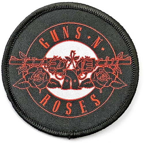 GUNS N ROSES Red Circle Logo