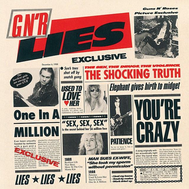 GUNS N ROSES Lies