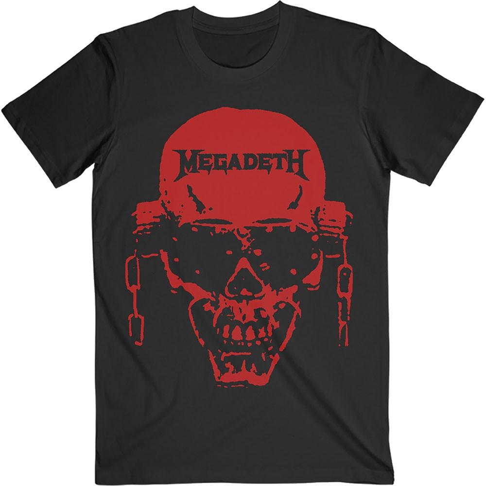MEGADETH Vic Hi Contrast Red
