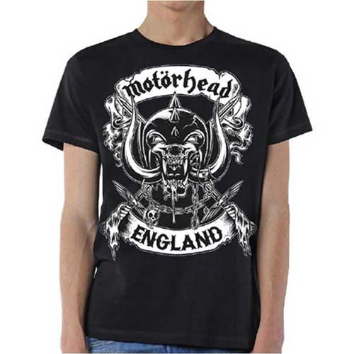 MOTORHEAD Crossed Swords England Crest