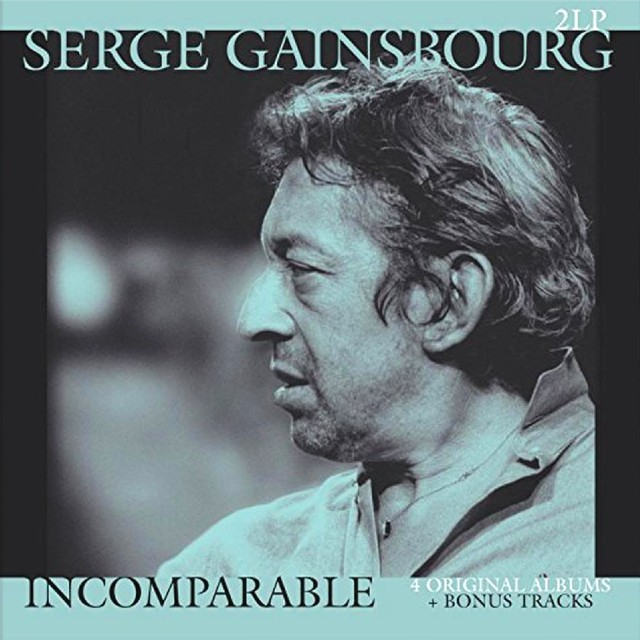 SERGE GAINSBOURG Incomparable