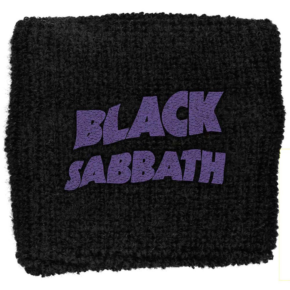BLACK SABBATH Purple Wavy Logo