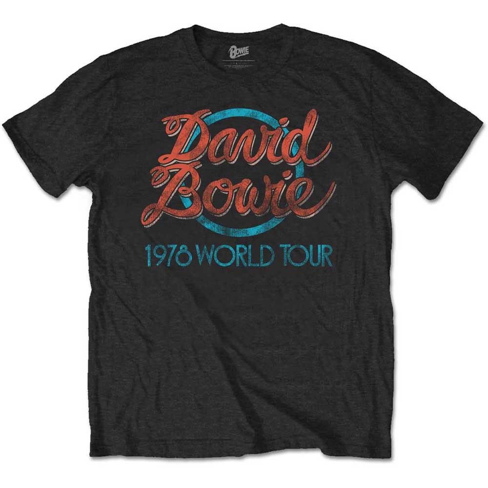 DAVID BOWIE 1978 World Tour