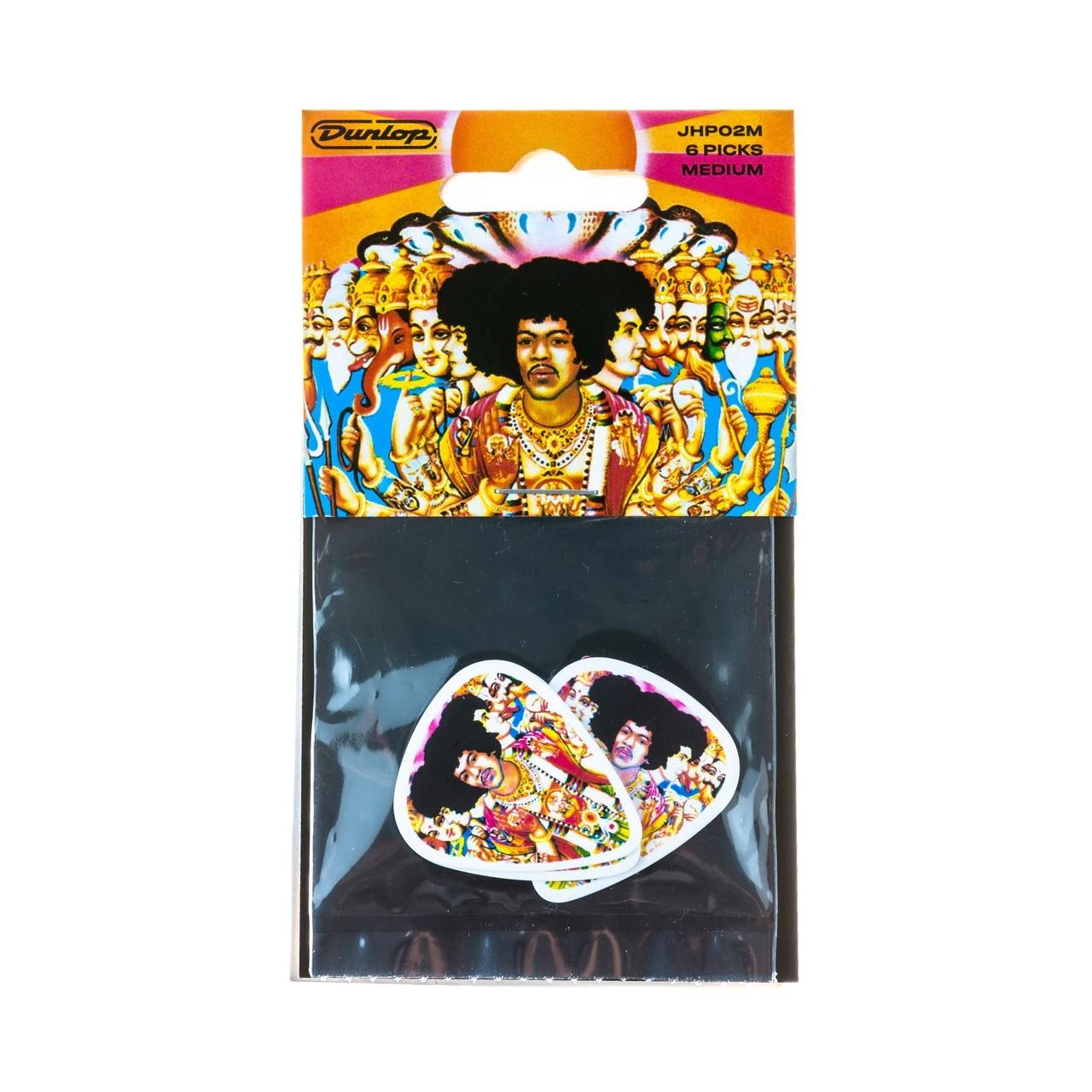 DUNLOP Médiators Jimi Hendrix x 6