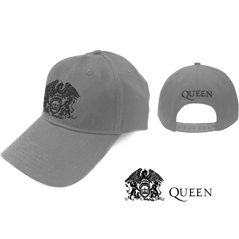QUEEN Black Classic Crest
