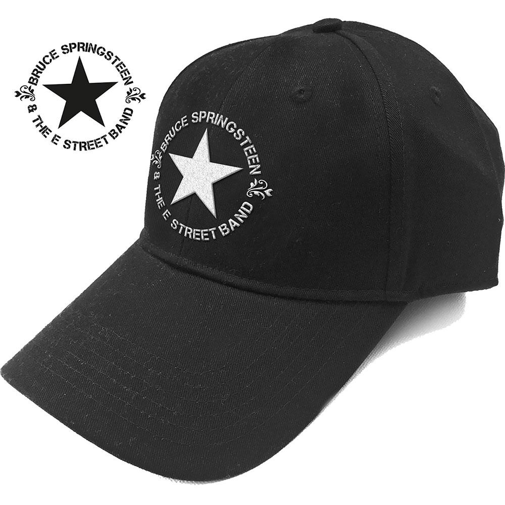 BRUCE SPRINGSTEEN Circle Star Logo