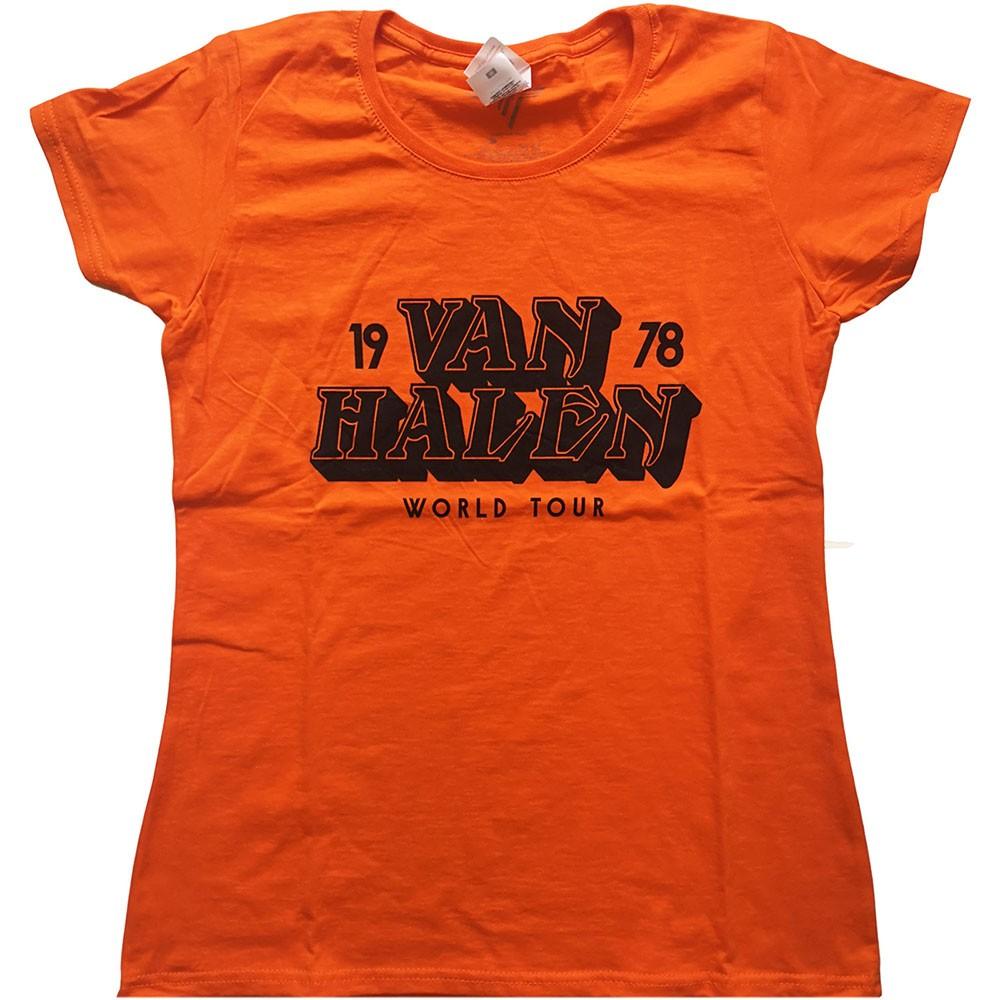 VAN HALEN World Tour 78