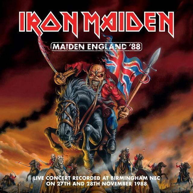 IRON MAIDEN Maiden England 88